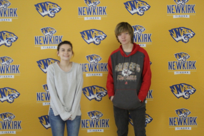 Congratulations! Students of the Week